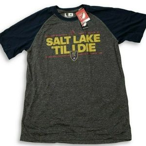NWT Real Salt Lake adidas Performance T-Shirt